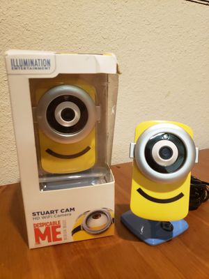 Despicable Me Stuart cam HD Wifi cameras for Sale in Newnan, GA
