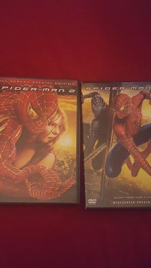 Spider-man 2 and 3 for Sale in Sioux City, IA