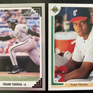 Frank Thomas 1991 2nd Year Two Baseball Card LOT!! WhiteSox!! for Sale in Manchester Township, NJ