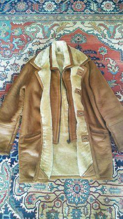 Shearling Sheepskin Fur Parka Coat for Sale in Fort Lauderdale,  FL
