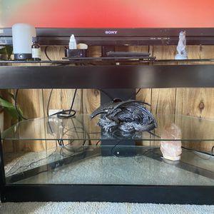 Glass TV stand for Sale in Alexandria, LA