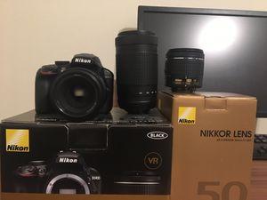 Nikon D3400 Bundle for Sale in Virginia Beach, VA
