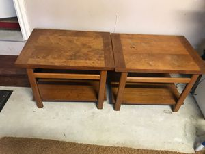 Free end tables (Pending Pickup) for Sale in Auburn, WA