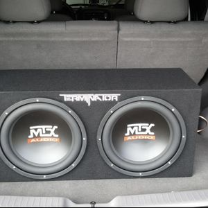 Subwoofer Box 12s for Sale in Oakland, CA