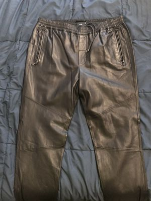 Vince leather joggers for Sale in Los Angeles, CA
