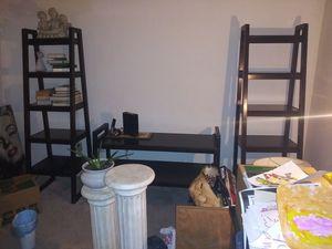 3 piece ladder shelf set for Sale in Clover, SC