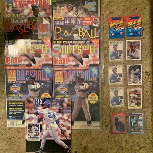 Ken Griffey Jr Lot Baseball Cards and Magazines for Sale in Upland, CA