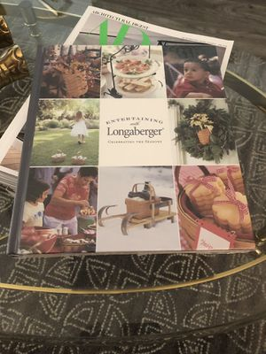 """""""Entertaining with Longaberger"""" sealed in Wrapper for Sale in Phoenix, AZ"""