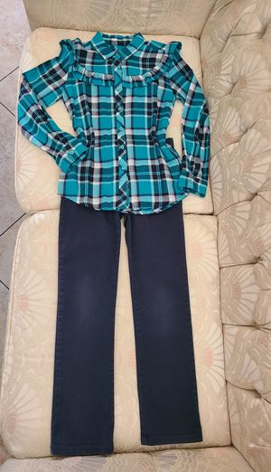 Girl's 2 pieces Outfit size 6/6X for Sale in Fontana, CA