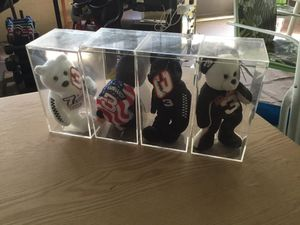 Dale Earnhardt beanie babies 4 of them for Sale in Kissimmee, FL