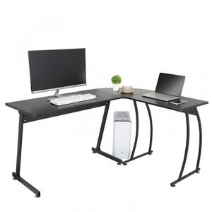 L-Shape Corner Desk Computer Game Office Durable Laptop Workstation Study Home for Sale in Wildomar, CA