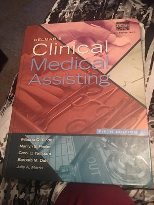 Clinical medical assisting book for Sale in Kingsport, TN