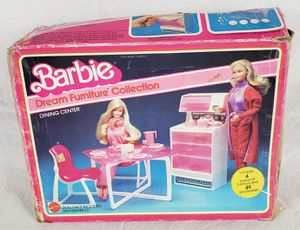 Vintage Barbie Dream Furniture Dining Center for Sale in Beaverton, OR