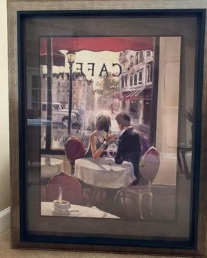 CAFE PAINTING ORIGINALLY $ 280 for Sale in Sleepy Hollow, IL