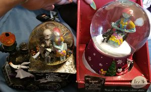 Nightmare before Christmas snowglobes for Sale in Altoona, IA