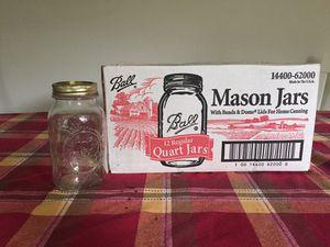 12 ball mason jars for Sale in East Hanover, NJ