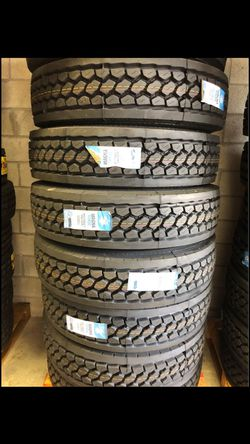 11r 24.5 1122.5 new tires we install for Sale in Cranston,  RI
