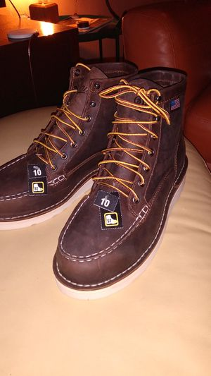 Danner - Work Boots (Steel Toe) leather, size 10 for Sale in Corona, CA