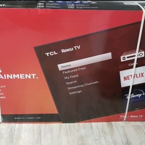4K TCL UHD Dobly Audio 55 Inch for Sale in Kissimmee, FL