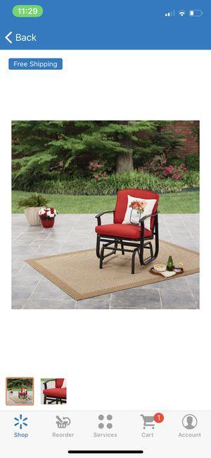 PATIO SWING GLIDER Bench Rocking Chair Outdoor Furniture Deck Porch Garden Yard for Sale in Phoenix, AZ