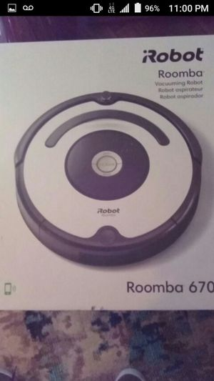 irobot roomba smart vacuum for Sale in Mesquite, TX