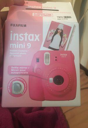 BRAND NEW instax 9 mini film instant camera for Sale in Houston, TX