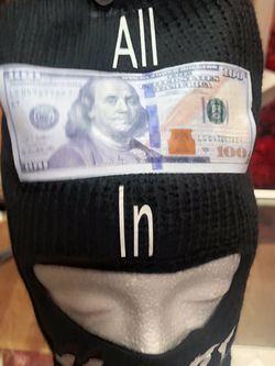 All Money In Ski Mask for Sale in Lancaster,  CA