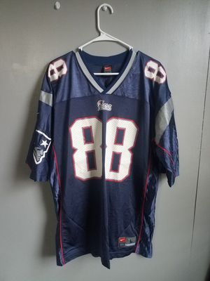 Terry Gleen Jersey New England Patriots NFL Nike Large Blue 88 for Sale in Philadelphia, PA
