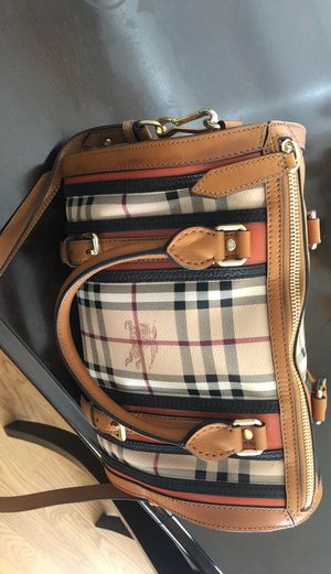 Burberry Brown Haymarket Check Bag for Sale in West Covina, CA