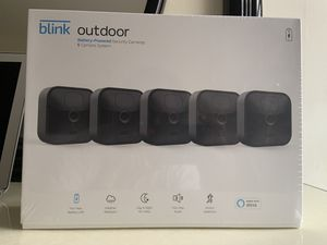 Blink outdoor Battery-Powered Security Cameras- 5 Camera System (BRAND NEW) for Sale in Linden, NJ