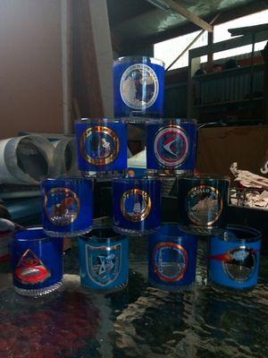 Collectors, # of Apollo shuttles, Drinking glasses. for Sale in Shoreline, WA