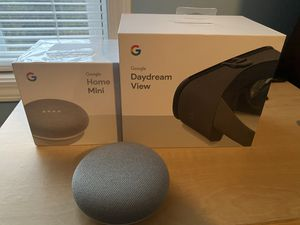 2 Google Home Mini's and A Daydream View for Sale in Concord, NC