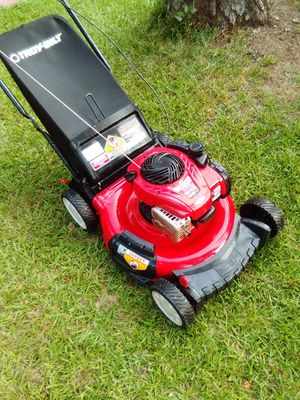 """Troy bilt 21"""" cut with bagger for Sale in Jackson, GA"""