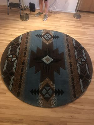 Round tribal rug for Sale in Los Angeles, CA