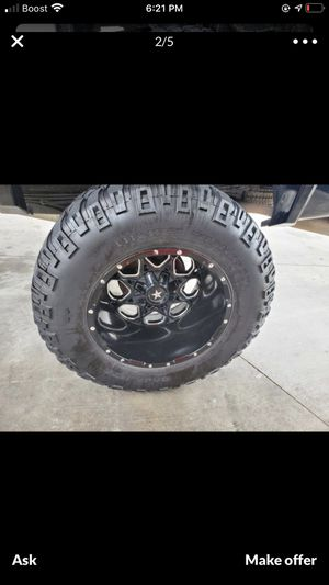 38 20x12 Mickey Thompson dual drilled for Sale in Lake Wales, FL