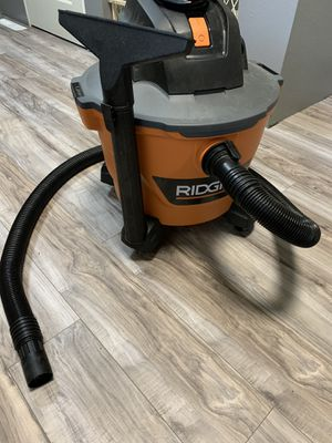 Ridgid 9 gallon shop vacuum for Sale in Kansas City, MO