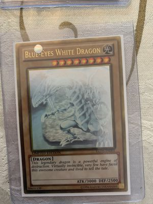 Blue-Eyes White Dragon Gold Ghost Rare Limited Edition for Sale in Coral Gables, FL