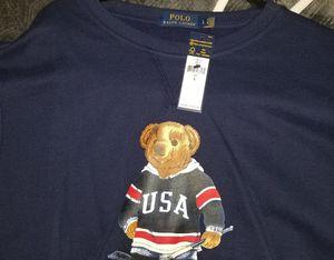 Ralph Lauren polo bear sweatshirt. for Sale in The Bronx, NY