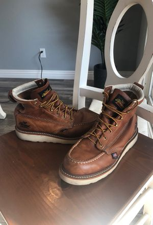Thorogood soft toe boots 9 1/2 worn twice for Sale in Arcadia, CA
