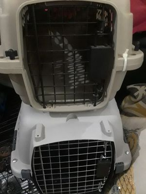 For small dog / cat kennel $25.00 ea1ch cash only ( Serious Buyers only) for Sale in Dallas, TX