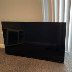 55' Inch SHARP FLAT SCREEN TV. TV WORKS GOOD for Sale in Capitol Heights, MD
