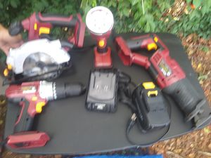 New cordless power tools everything new still in box the only thing that has been used is the saw saw its been used 2 times asking 115 obo for Sale in Nashville, TN