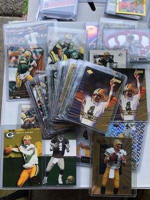 Brett Favre card lot 50 for Sale in Federal Way, WA