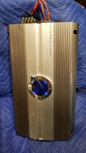 AMP PLANET AUDIO 5 CHANNELS BASS and VOICE for Sale in Dallas, TX
