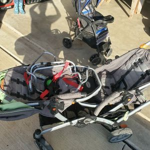 Double Stroller Two Car Seat for Sale in Fort Worth, TX