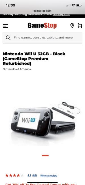 Wii U with games for Sale in Lacey Township, NJ