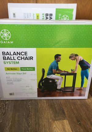 Never opened Gaiam Balance Ball Chair for Sale in Kailua-Kona, HI