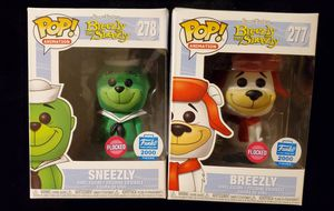 Sneezly and Breezly flocked funko pop set !!!! for Sale in Phoenix, AZ