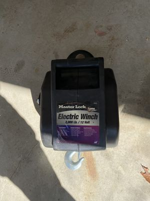 Master Lock Winch for Sale in Redlands, CA