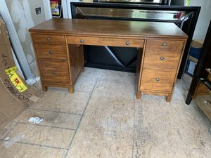 wooden desk for Sale in Sterling, VA